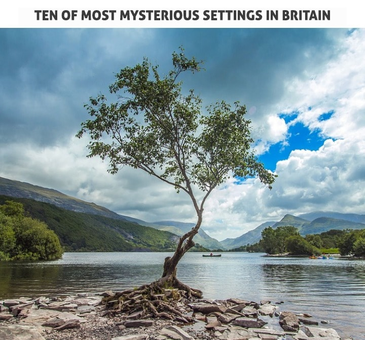 ten of the most mysterious settings in britain