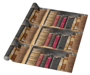 Old Library Wrapping Paper