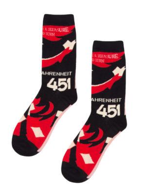 FAHRENHEIT 451 SOCKS