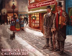 Sherlock Holmes Calendar 2019