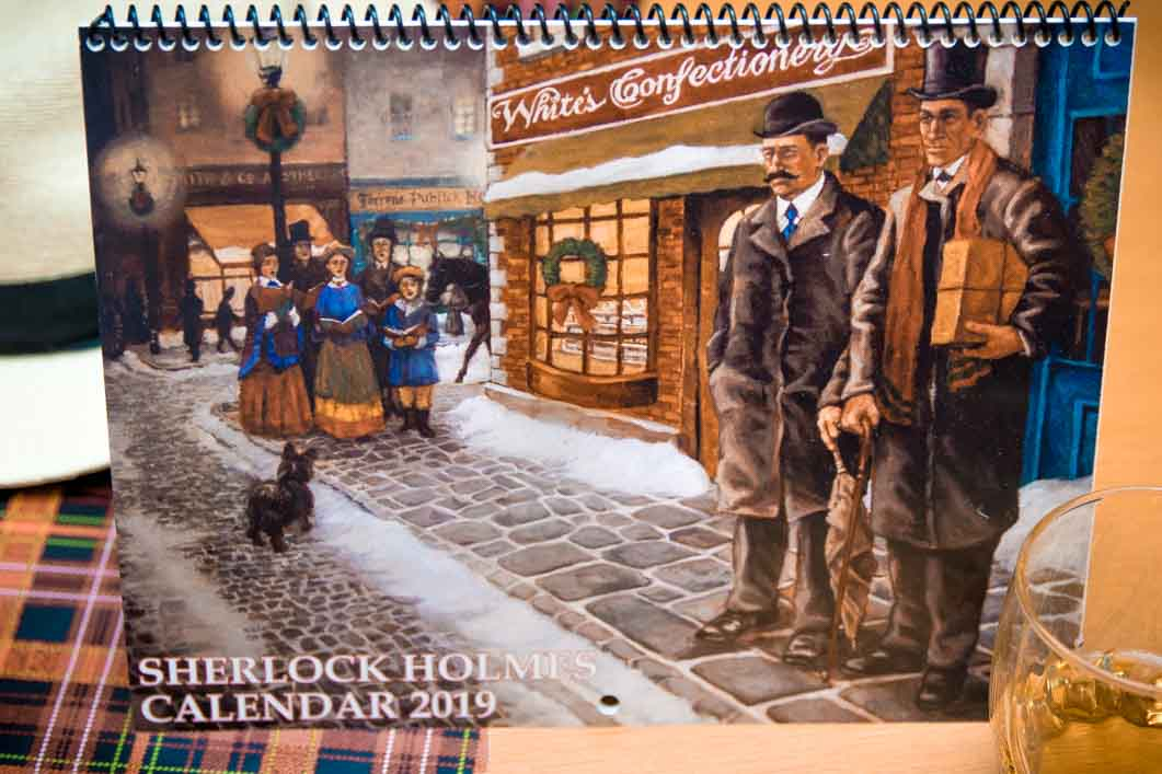 Sherlock Christmas Special 2019 Sherlock Holmes Calendar 2019 (Delivered in time for Christmas