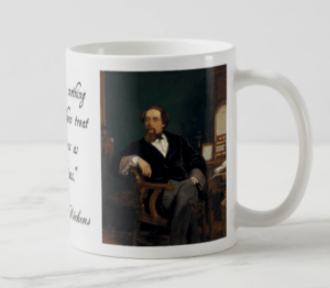 Great Authors Series: Charles Dickens Coffee Mug