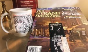 Spy Gift Set: Issue of the Strand with an exclusive with Len Deighton, The Greatest Spy Novels of all Time Coffee Mug and Bookmark...