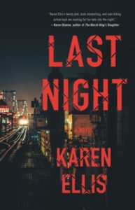 Last Night by Karen Ellis (Hardcover)