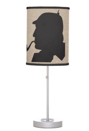 Sherlock Holmes Table Lamp