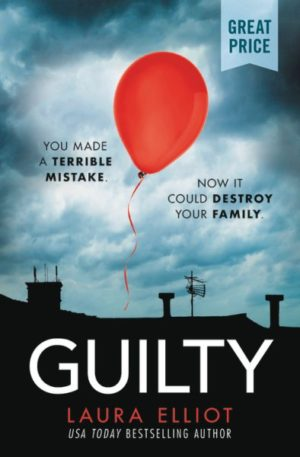 Guilty by Laura Elliot (paperback) Laura Elliot psychological thrillers
