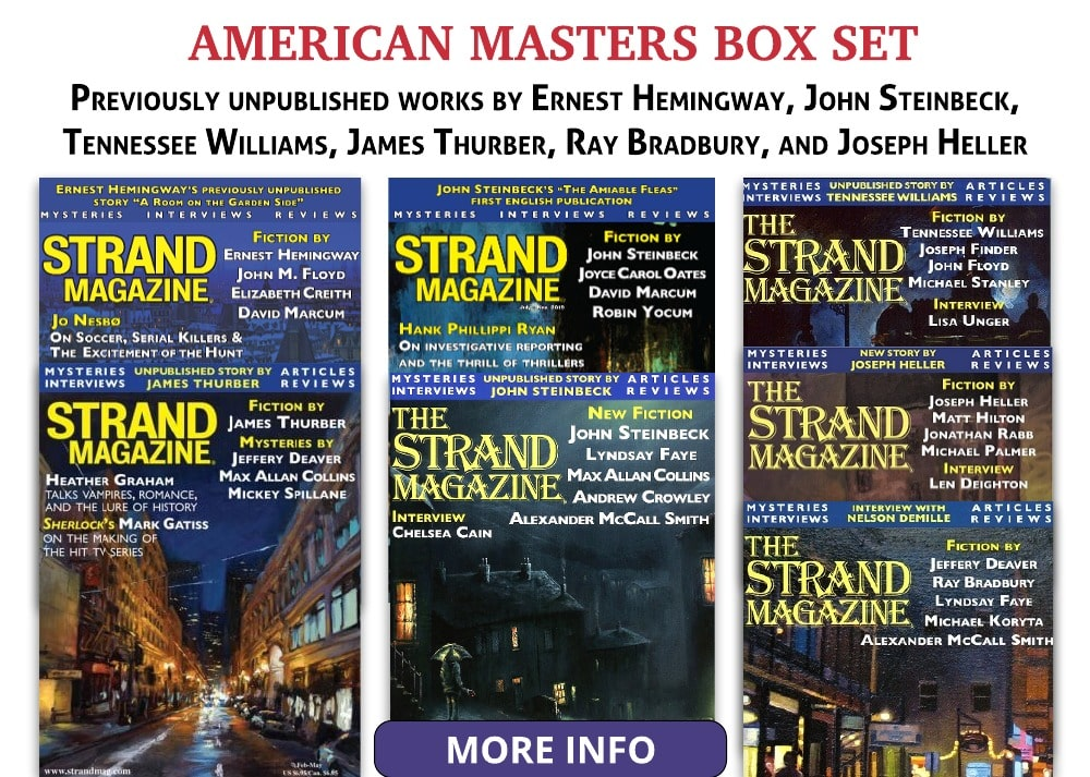 American Masters Box Set with Ernest Hemingway, and John Steinbeck