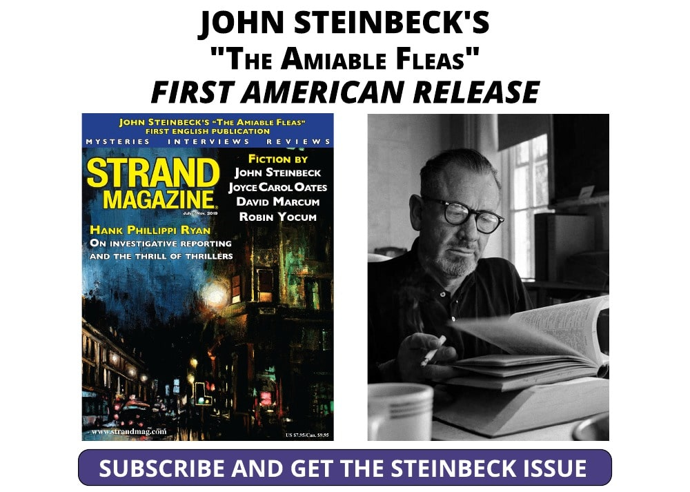 Subscribe and get the New Steinbeck Story