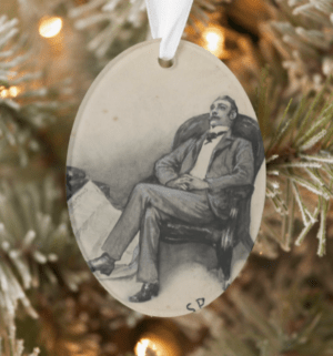 Dr. Watson Christmas Tree Ornament