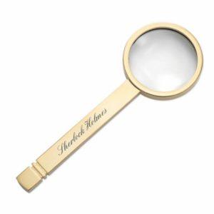 Sherlock Holmes Brass Magnifying Glass