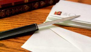 Sherlock Holmes Marble Letter Opener