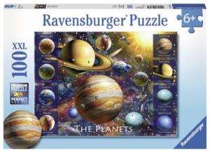 Planets 100 Piece Puzzle