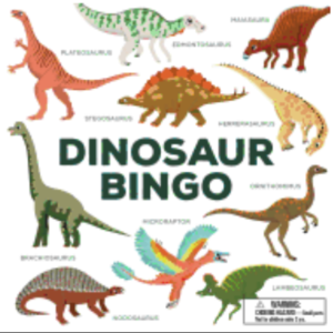 Dinosaur Bingo: (an Easy-To-Play Game for Children and Families)