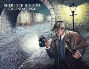 Sherlock Holmes Calendar 2021
