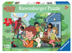 Give a Mouse a Cookie: Mouse's Backyard 35 PC Puzzle