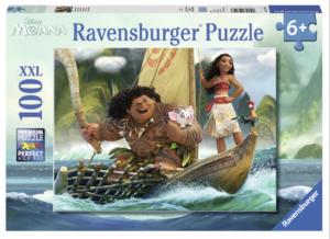 Moana and Maui 100 PC Puzzle