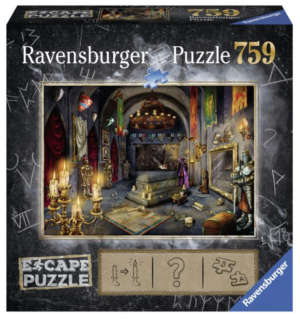 Vampires Castle 759 Piece Puzzle Escape