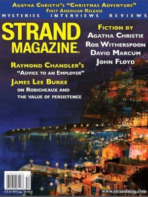 Unpublished Raymond Chandler and Agatha Christie PLUS 1-year subscription