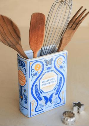 Bibliophile Ceramic Vase