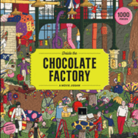Inside the Chocolate Factory 1000 pc Puzzle