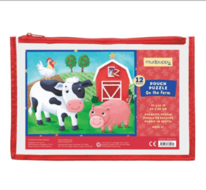 Pouch Puzzle On the Farm