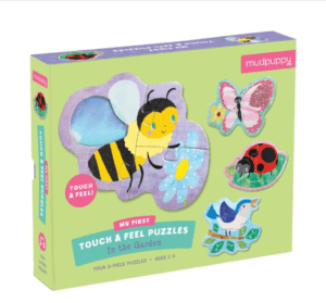 Touch & Feel Puzzle In the Garden