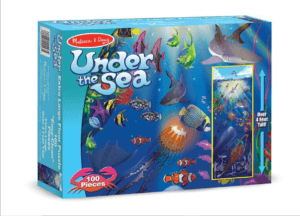 Under the Sea 100 pc Puzzle by Melissa & Doug
