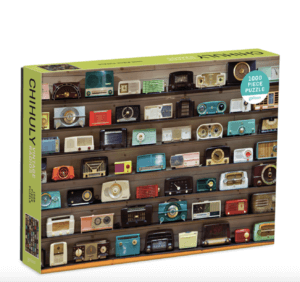 Chihuly Vintage Radios 1000 Piece Puzzle